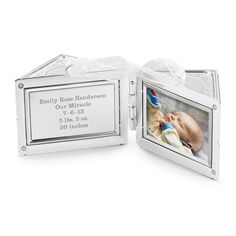 Personalized 2013 Baby Block 3D Ornament , Add Your Message / Things Remembered // I want this for Eli