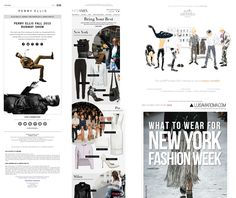 New York, Paris and Milan: Fashion Week events via email