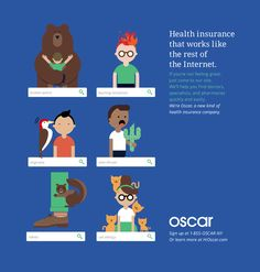 Oscar Health Insurance Outdoor Advertisement