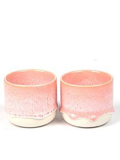 """Cup """"Sip"""" in Peachy Pink by Studio Arhoj"""