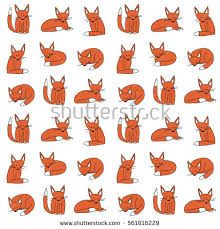 Image result for fox doodle