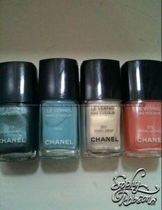 Chanel Spring 2012 colors