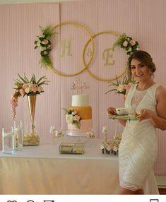 Decoration for civil wedding ceremony Diy Wedding Reception, Diy Wedding Backdrop, Rustic Wedding, Diy Backdrop, Wedding Vintage, Bridal Shower Decorations, Diy Party Decorations, Reception Decorations, Vintage Decorations