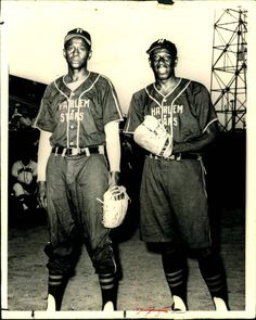 Satchel Paige and Goose Tatum