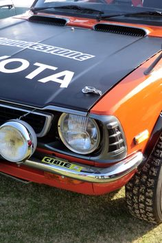 1973 TOYOTA COROLLA LEVIN Rally