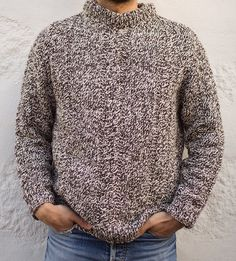 Traditional Fisherman hand knitted jumper [ CHALANDRA ]