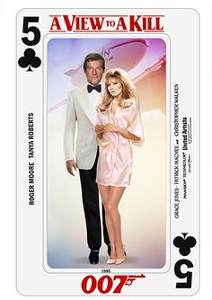 Bond Cards series by PMitchel