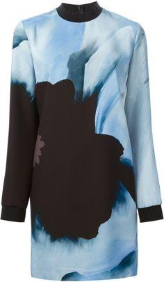 Love this:  VICTORIA VICTORIA BECKHAM Floral Tunic Dress @Lyst