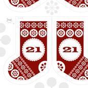 advent calendar + cool fabrics