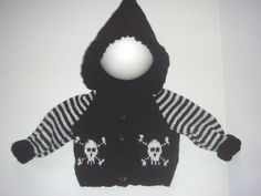 Hey, I found this really awesome Etsy listing at https://www.etsy.com/listing/186332949/baby-gothemopunk-hand-knitted-skull