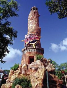 islands of adventure in Universal Studios in Orlando Florida.