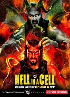 WWE Hell In A Cell 2018 a professional wrestling pay per view event. It took place on Spetember at the AT&T Center San Antonio in Texas Wwe Events, Wwe Ppv, Wwe Pay Per View, Braun Strowman, Wwe Roman Reigns, Full Match, Full Movies Download, The Cell, Popular Movies