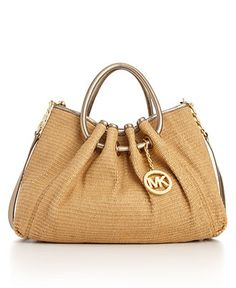 "Michael Kors ""Addison"" handbag $228. Looks like a great Beach style bag!"