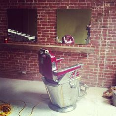 """""""House of Barons barbershop for gentlemen. Barber Chair, Men's Grooming, Barber Shop, Shops, Home Decor, Homemade Home Decor, Tents, Interior Design, Home Interiors"""