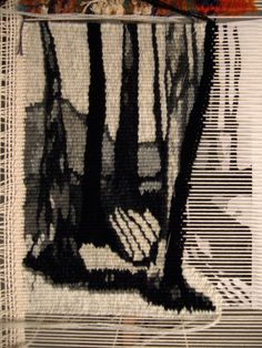 Tapestry-tree sillhouettes