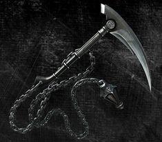 The Kusari-Gama (鎖鎌 Kusari Gama, Chain Sickle) is a Ninja weapon consisting of a long chain with...
