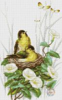 "Gallery.ru / kento - Альбом ""69"" Cross Stitch, Gallery, Plants, Painting, Crossstitch, Roof Rack, Painting Art, Flora, Paintings"