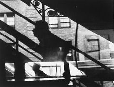 by Louis Faurer, Win, Place and Show, 3rd Ave El, New York, New York, 1947