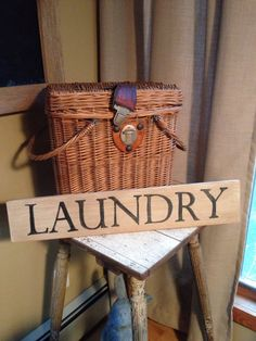 LAUNDRY Sign by Homeroad on Etsy, $23.00