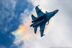 Russian SU planes on MAKS 2015 Russian Air Show