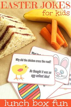 Bring a smile to your child's face with these printable Easter joke cards. Can also be made into a mini joke book perfect for early readers.