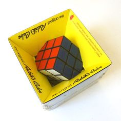 Ideal Rubik's Cube 80s / Sealed in Box by AttysSproutVintage
