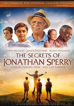 """Watch award winning """"The Secrets of Jonathan Sperry"""" at IAMflix.com. Inspiring, entertaining, family-friendly movie! When Dustin mows the lawn of seventy-five year old Jonathan Sperry, a unique friendship develops. #IAMflix"""
