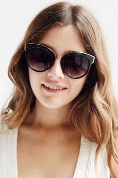 VIP Cat-Eye Sunglasses - Urban Outfitters