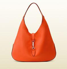 727a773014 Gucci - borsa a spalla jackie soft in pelle 362968AZB0N7523 Borse Di Gucci,  Borse Hobo
