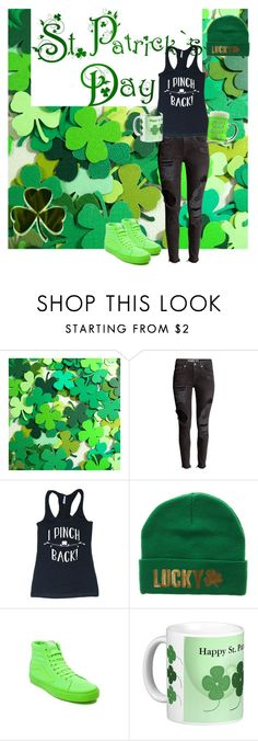 """""""Happy St. Patrick's Day!"""" by crazyperson45 ❤ liked on Polyvore featuring Vans"""