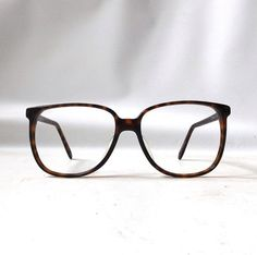 9b75df6a93a0 vintage 1980 s NOS liz claiborne round eyeglasses prescription brown  plastic tortoise shell frames oversized eye glasses modern retro womens