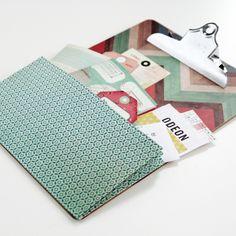 Diy Expandable Pocket Clipboards