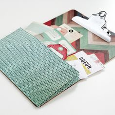 Diy Expandable Pocket Clipboards