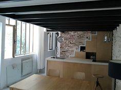 Un atelier d'artiste devenu loft à Paris - PLANETE DECO a homes world