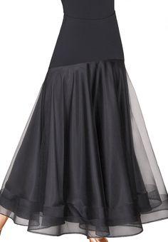 DSI Hettie Ballroom Dance Skirt 3212 | Dancesport Fashion @ DanceShopper.com