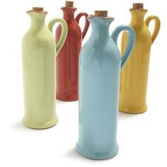 Ceramic Oil Bottles, 18 oz. - Tabletop & Serving - Sale - Sur La Table - olive oil dacanter