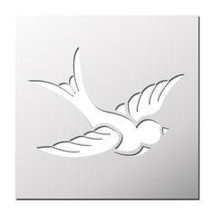 Pochoir mouette gratuit imprimer gabarits pinterest for Pochoir oiseau