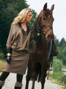 burda style: Damen - Kleider - Blusenkleider - Kleid - Fledermausärmel - Jersey