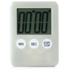 Digital kitchen timer - available all over (Walmart, Canadian Tire, Amazon). My old hand-crank version popped the spring.