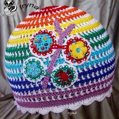 Berretto arcobaleno 2, by Non solo uncinetto di Iryna, 20,00  su misshobby.com