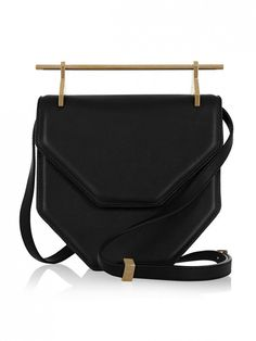 M2malletier Amor Fati Leather Shoulder Bag The Bags