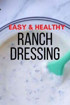 Homemade dressing buttermilk and greek yogurt. Best dressing mix recipe. Easy healthy ranch dressing recipe. Dressing healthy clean eating recipe. #foodtalkdaily