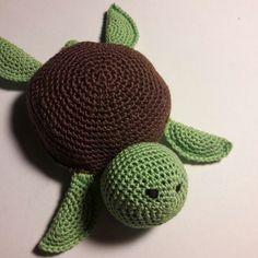 Szydełkowy żółw/crochet turtle made by kulkizfilcu