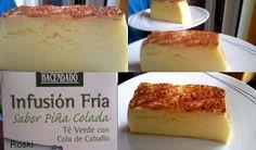 Roski-cocina y algo mas-Yus: Tarta Flan Dukan con Sabor Piña Colada