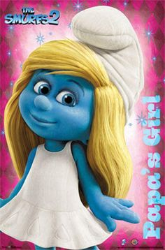 The Smurfs 2 Smurfette Movie Poster Poster at AllPosters.com