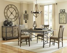 Dining room tables, Nickel finish and Dining rooms on Pinterest