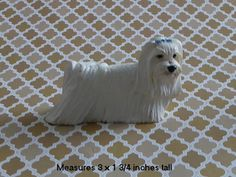 Maltese Dog Coton de Tulear dog 3D Silicone Mold Cake Tool Fondant Chocolate Candy Cake Topper Resin Polymer Clay Craft