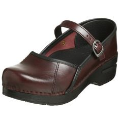 Dansko Women's Marcelle Dress Pump, Cordovan Cabrio, 43 M US. Clog-Style Construction with Mary-Jane Strap. Strap Over Vamp with Adjustable Side Buckling Closure. Interior Leather Lining. Dansko Shoes, Clogs Shoes, Mules Shoes, Pumps Heels, Mary Jane Shoes, Girls Shoes, Ladies Shoes, Wedding Shoes, Mary Janes