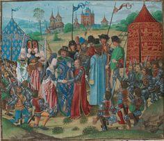 « Chroniques sire JEHAN FROISSART ». Français 2646  Date d'édition :  1401-1500  Folio 245v