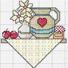 Ideas Embroidery Patterns Birds Punto Croce For 2019 Cross Stitch Kitchen, Mini Cross Stitch, Cross Stitch Needles, Cross Stitch Cards, Cross Stitch Flowers, Modern Cross Stitch, Cross Stitch Designs, Cross Stitching, Cross Stitch Embroidery